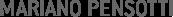 MARIANO PENSOTTI Logo